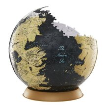 """4D cityscape game of Thrones 3D globe Puzzle (540 Piece), 9"""""""