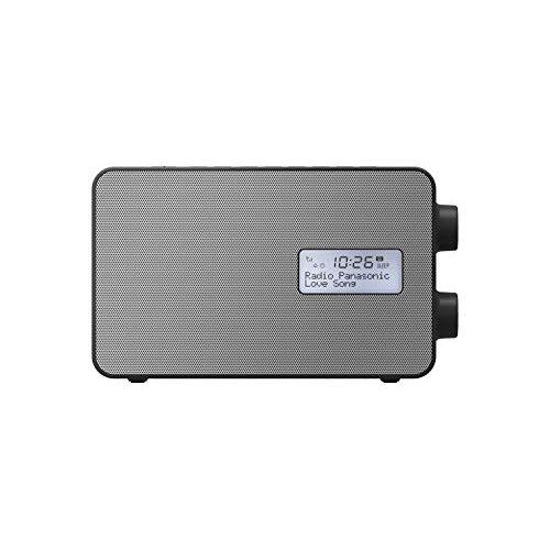 Panasonic RF-D30BTEB-K Smart function radio with USB smartphone charging, Bluetooth connectivity & DAB+