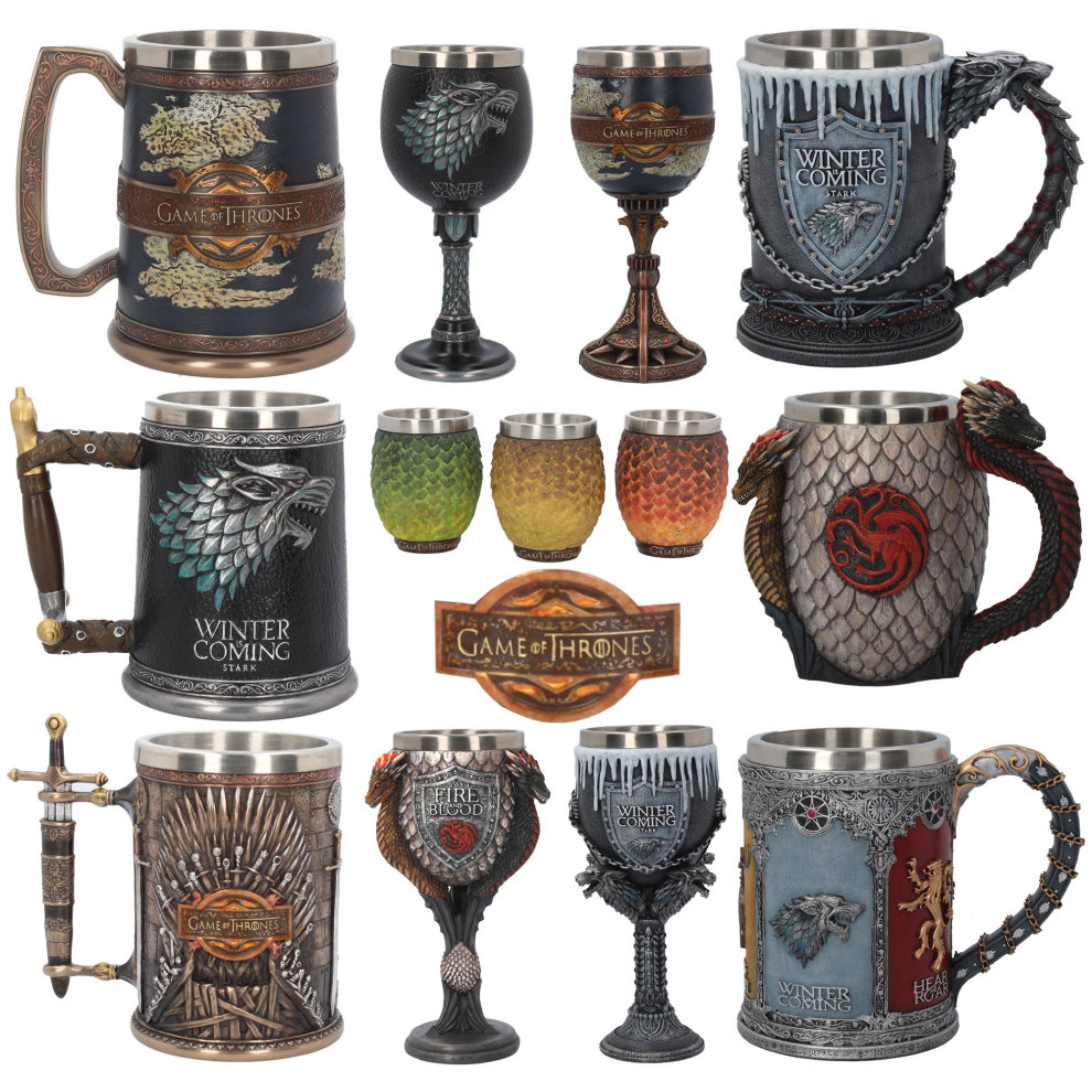 Game Of Thrones Tankard Goblet Shot Glasses On Onbuy