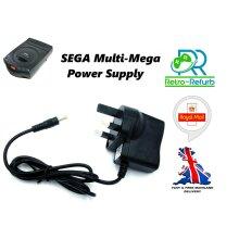 Sega Multi-Mega AC Adapter Power Supply Cord