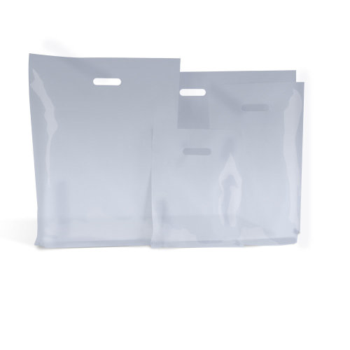 Clear Biodegradable Polythene Plastic Carrier Bags