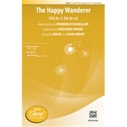 Alfred 00-37918 HAPPY WANDERER-STRX CD