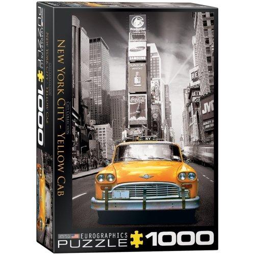 Eg60000657 - Eurographics Puzzle 1000 Pc - New York Yellow Cab