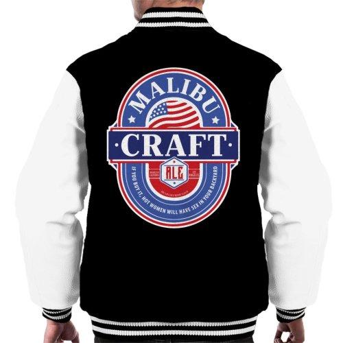 Malibu Craft Ale Men's Varsity Jacket