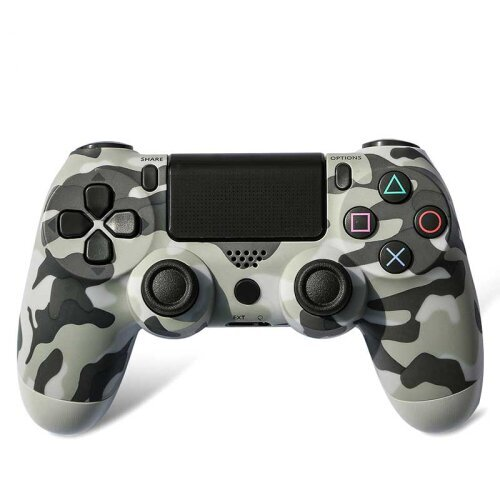 (Camouflage gray) DoubleShock 4 Game Controller   Unofficial PS4 Controller