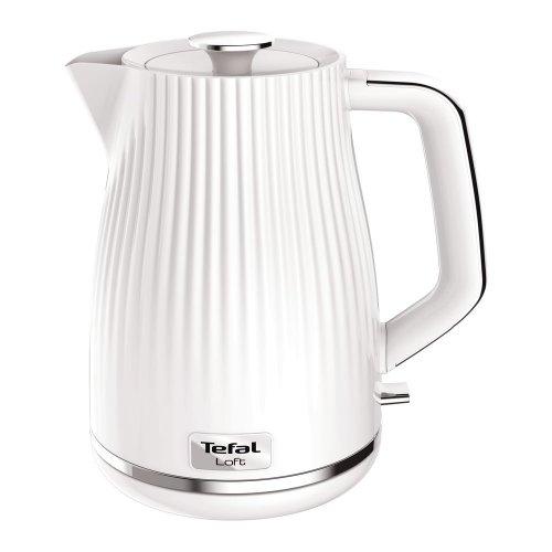 TEFAL Loft KO250140 Rapid Boil Traditional Kettle - Pure White, White