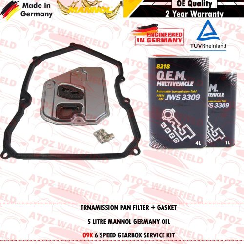 FOR VW TRANSPORTER CARAVELLE 2.5 TDI AUTOMATIC TRANSMISSION GEARBOX FILTER OIL