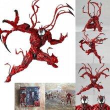 Yamaguchi Marvel Carnage Red Venom Spider-Man Action Figure Model Kids Dolls