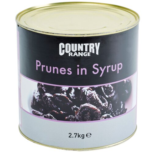 Country Range Prunes In Syrup - 6x2.55kg