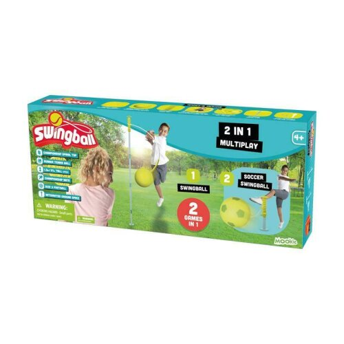 Mookie Toys Football & Tennis 2-in-1 Swingball