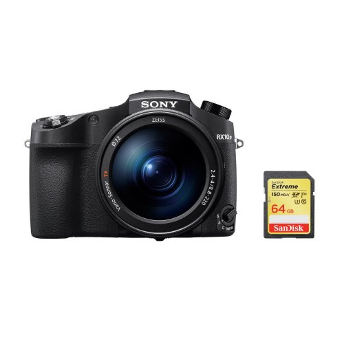 SONY RX10 IV Black + SanDisk Extreme 64G SD card