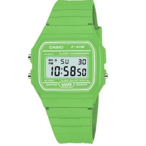Casio Classic Alarm Chronograph F91WC3AEF