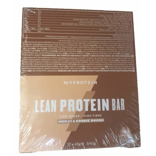 My Protein Lean Protein Bar (12 x 45g) (Chocolate and Cookie Dough)