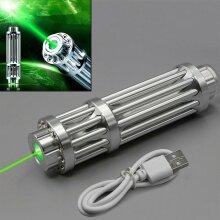 Laser Pointer Pen Green 1MW 532nm Militar Burning Beam