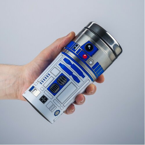 Star Wars R2-D2 Travel Mug Reusable Double Walled Insulated 450ml