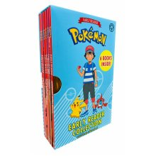 The Official Pokémon Early Reader 6 Books Box Set Collection