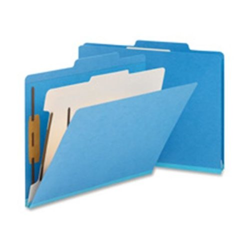 Classification Folder- Top-Tab- Letter- 2 Divider- Yellow