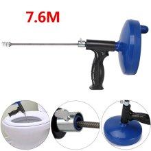 Drain Unblocker Flexible Auger Snake Pipe Brush Cleaner Plumbing Tool