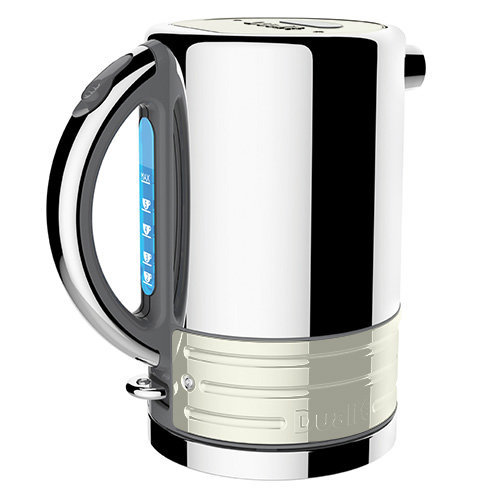 Dualit Architect Grey and Canvas White Kettle
