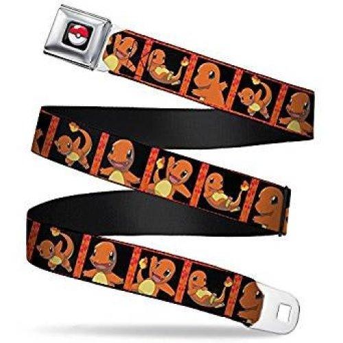 Seatbelt Belt - Pokemon - V.27 Adj 24-38' Mesh New pka-wpk032