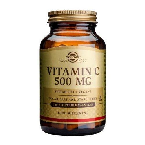 Solgar Vitamin C 500mg Vegetable Capsules , 100