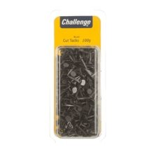 Challenge Fine Cut Steel Tacks Blue Folding Clam Pack (100g/3.5oz)
