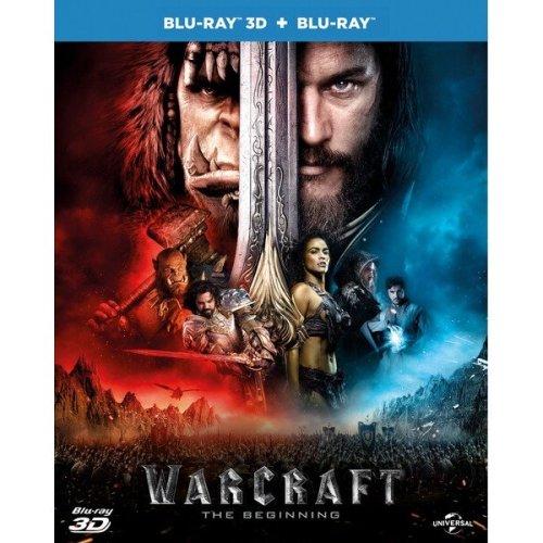 Warcraft 3D+2D Blu-Ray [2016]