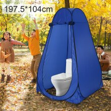 Pop-Up Privacy Tent Portable Camping Shower Toilet Changing Room