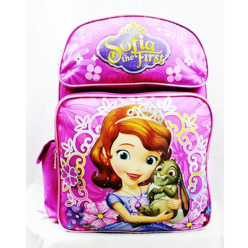 Backpack - Disney - Sofia the First Flower Bag Pink School Bag New A05917