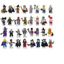 32 Series Minifigures Fit LEGO Halloween Decoration Pick Your Own Monster