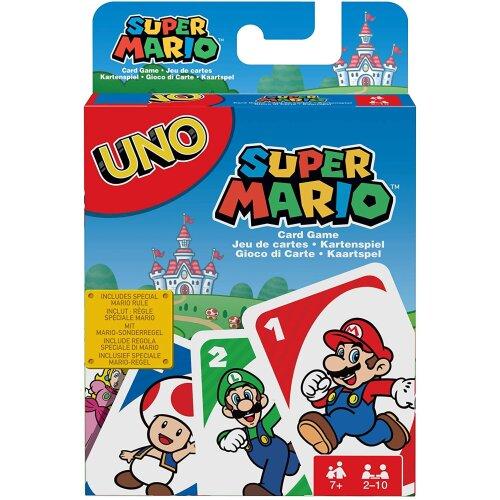 Mattel Games DRD00 887961331240 UNO Super Mario