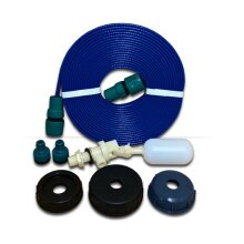 Universal Mains Water Adaptor with 20m Flat Non-Toxic Hose