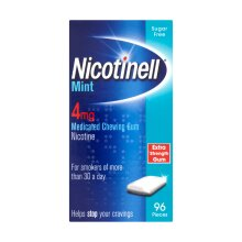 Nicotinell Gum 4mg Mint - 96 Pieces