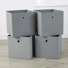 Fabric Cube Storage 4 Piece