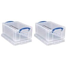 Really Useful Storage Box 9 Litre- Pack of 2