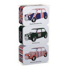 Heritage Cars Tea Tin Gift Pack (JFCARSET) by British Heritage Cars
