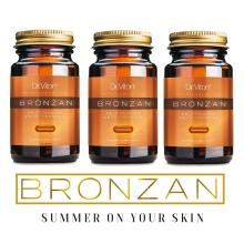 3X Bronzan Dr Viton 100% Natural and Organic sunless tanning 3X30 caps