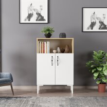 P&W Multi-Purpose Cabinet for Bathroom Living Room Kitchen, Dual Using