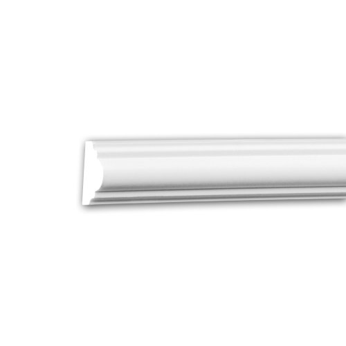 Profhome 651322 Panel Moulding Dado Rail Frieze Moulding Decorative Moulding 2 m