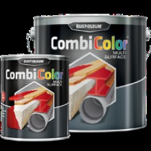 Rust-oleum CombiColor Multi-Surface Primer and Topcoat Gloss 2.5 Litre Moss Green RAL6005