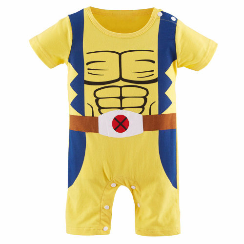 Marvel Wolverine-inspired Baby Infant Superhero Outfit