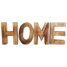 HOME Wooden Letters Sign