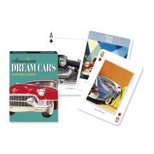 Piatnik Dream Cars Playing Cards Single Deck