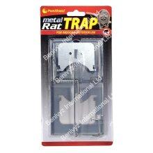 METAL RAT TRAP CLASSIC SNAP RAT/MOUSE TRAP - REUSABLE RODENT TRAP