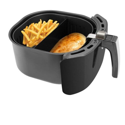 (As Seen on Image) Compatible With 9 Inch Air Fryer Baskets Air Fryer Basket Divider Keeps Food Separated