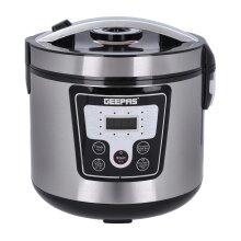 Geepas 700W Electric Pressure Cooker Steamer 1.8L Digital Multi Cooker