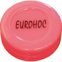 Eurohoc Puck Hockey Flat Spare Plastic Indoor Practice Hockey Puck (UK2020)