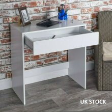 1Drawer Dressing Table Wooden Vanity Computer Desk Bedroom Furniture