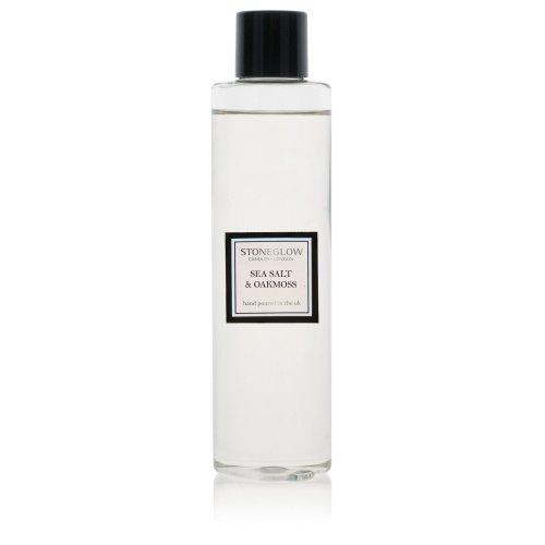 Stoneglow Modern Classics Reed Diffuser Refill Bottle 200ml Home Fragrance Sea Salt & Oakmoss