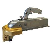 MSA Heavy Duty Ball Tow Hitch Lock & Keys for Towing Caravan/Trailer Security